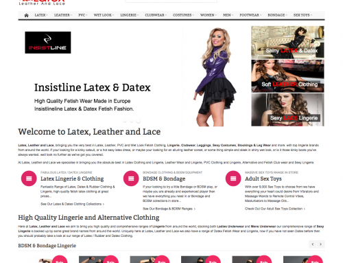 Magento E-Commerce SSL & Full Page Cache for Latex Leather & Lace