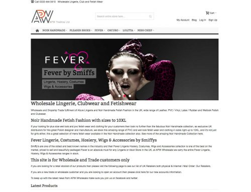 APW Wholesale – Magento Multistore B2B Site