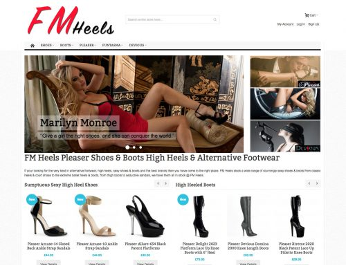 FM Heels – Magento with Configurable Products & Clean Theme