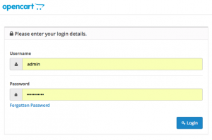 Securing your OpenCart Admin Folder and Login Page